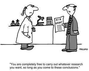 cartoon met twee mannen in laboratorium