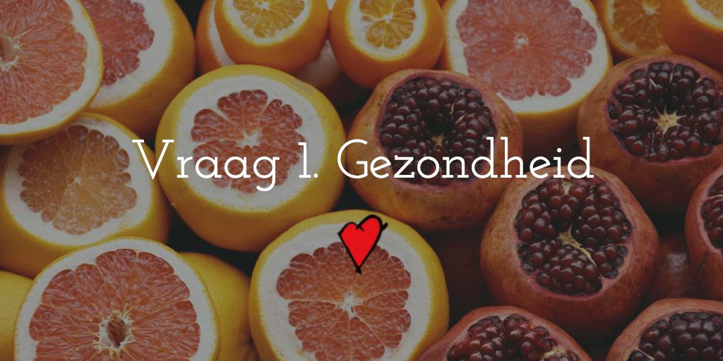 Foto van fruit als symbool voor gezondheid als onderdeel van succesvol ondernemen
