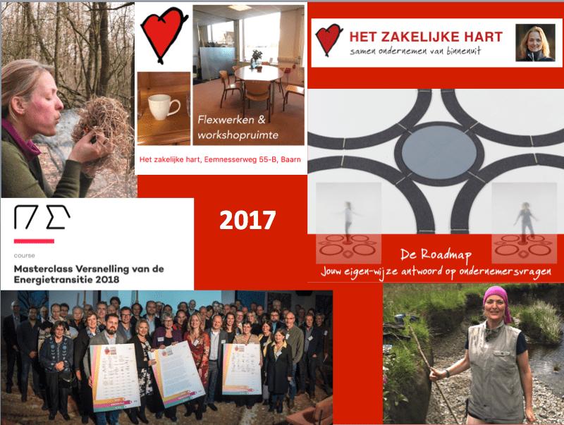 Foto's van momenten in 2017 die horen bij de blog Waar ging 2017 over