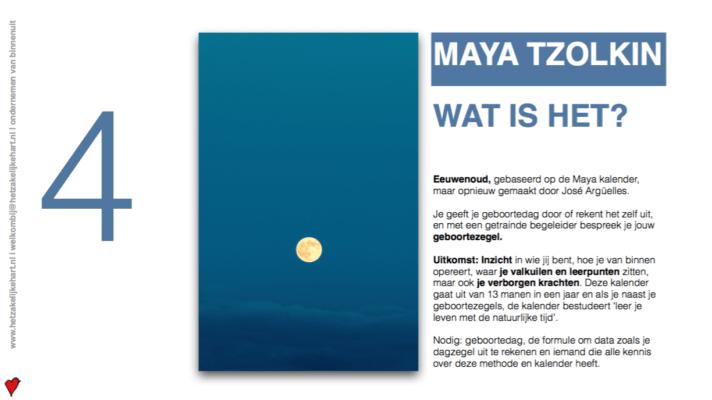 Ken jezelf via de Maya kalender