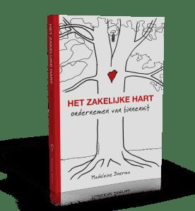3D cover paperback Het zakelijke hart
