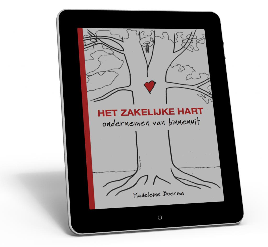 3D cover eBook Het zakelijke hart