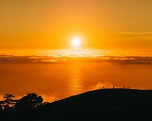 Foto van zonsopgang